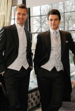 grey wedding suits for hire