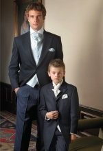 navy wedding suit hire